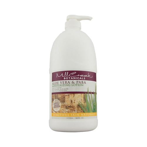 Mill Creek Botanicals Aloe Vera And Paba Moisturizing Lotion (64 Fl Oz)