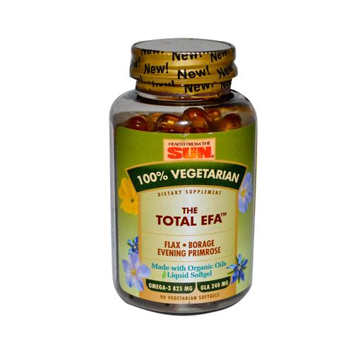 Health From The Sun The Total Efa (90 Veg Softgels)