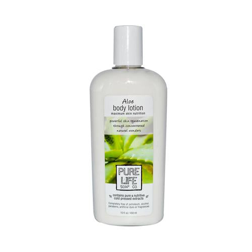 Pure Life Soap Aloe Body Lotion 14.9 Oz
