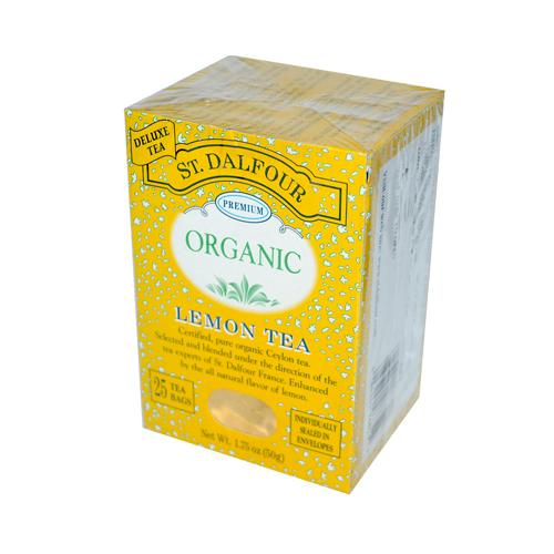St Dalfour Organic Tea Lemon (1x25 Tea Bags)