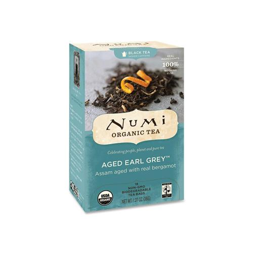 Numi Tea Earl Grey Assam Black Tea (1x18 Bag)