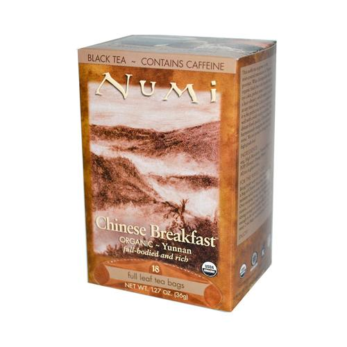 Numi Tea Chinese Breakfast Black Tea (1x18 Bag)
