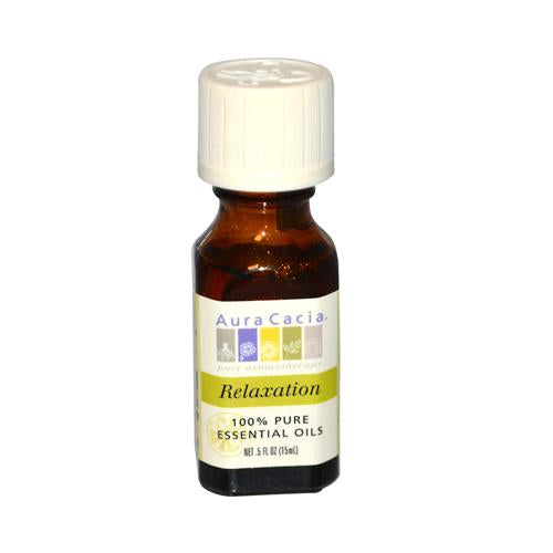 Aura Cacia Relaxation Essential Oil Blend (0.5 Fl Oz)