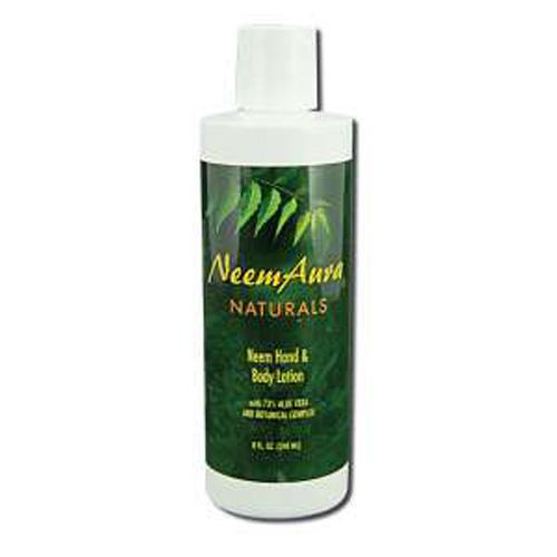 Neem Aura Hand And Body Lotion With Aloe Vera (8 Fl Oz)