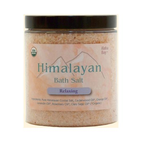 Himalayan Salt Bath Salt Relaxing 24 Oz