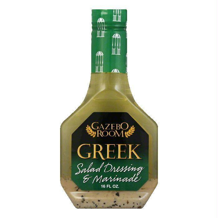 Gazebo Room Greek Salad Dressing & Marinade, 16 oz (Pack of 6)