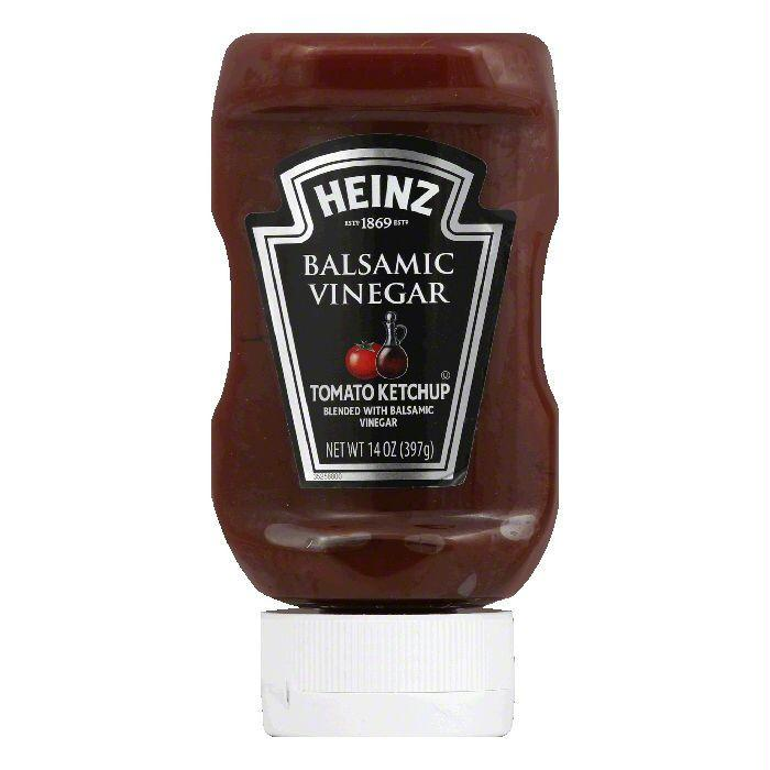 Heinz Balsamic Vinegar Tomato Ketchup, 14 Oz (Pack of 6)