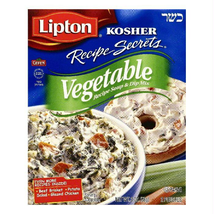 Lipton Vegetable Recipe Soup & Dip Mix, 2 ea (Pack of 12)