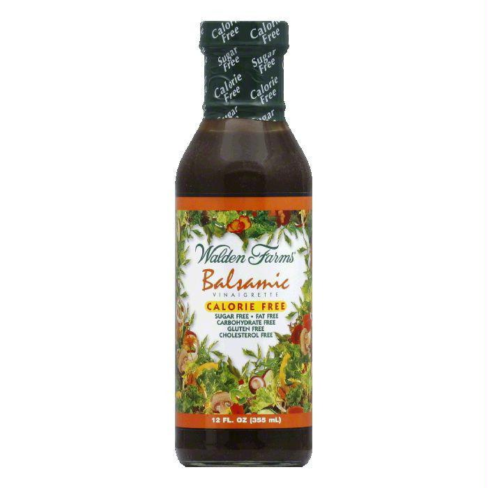 Walden Farms Salad Dressing Balsamic Calorie Free, 12 OZ (Pack of 6)
