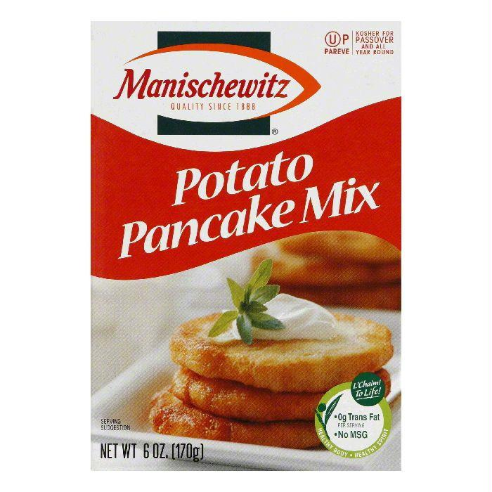 Manischewitz Potato Pancake Mix, 6 OZ (Pack of 6)