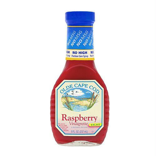 Olde Cape Cod Light Raspberry Vinaigrette & Marinade Dressing, 8 OZ (Pack of 6)