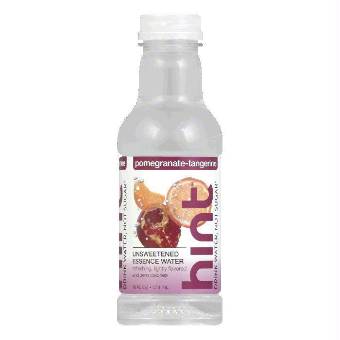 Hint Water Pomegranate Tangerine, 16 FO (Pack of 12)