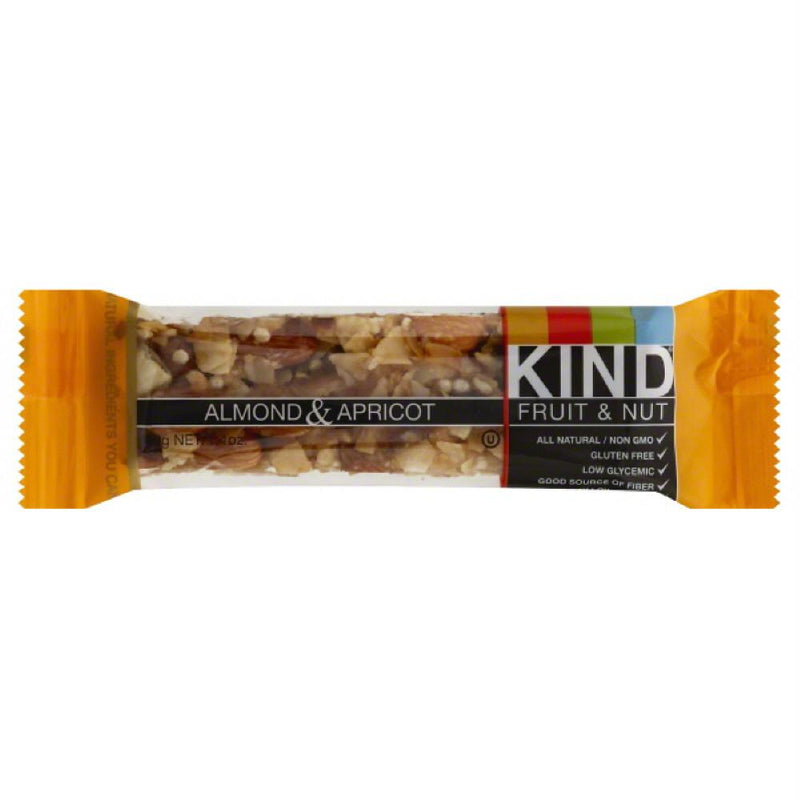 Kind Almond & Apricot Fruit & Nut Bar, 1.4 Oz (Pack of 12)
