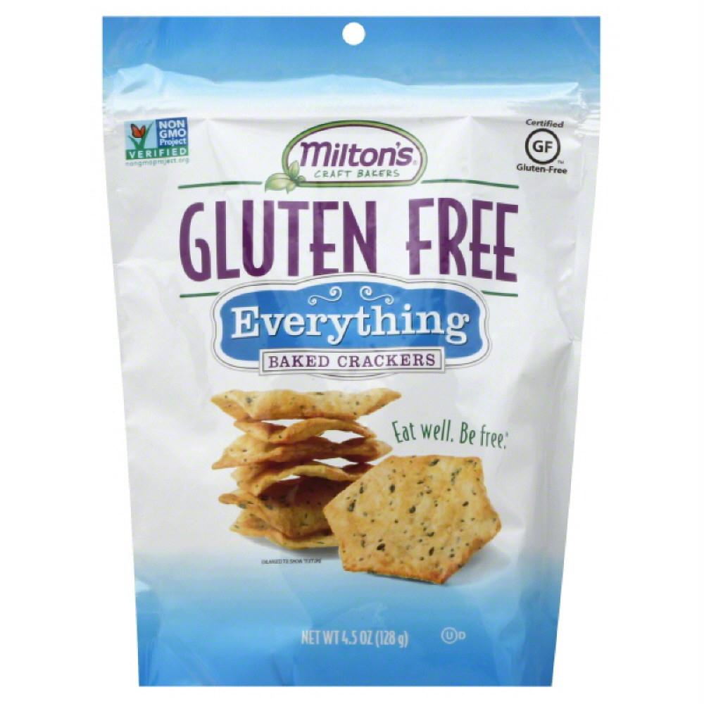 Miltons Everything Baked Crackers, 4.5 Oz (Pack of 12)