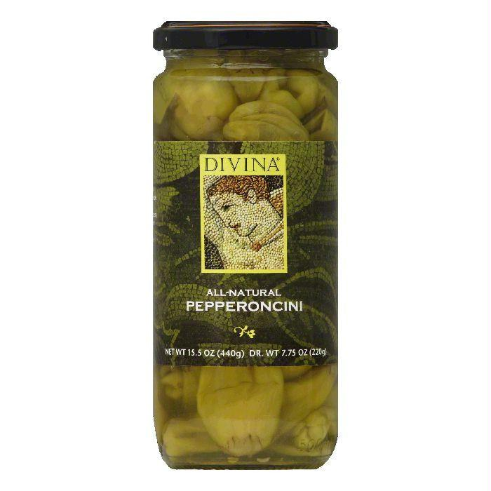 Divina Pepperoncini, 7.75 Oz (Pack of 6)