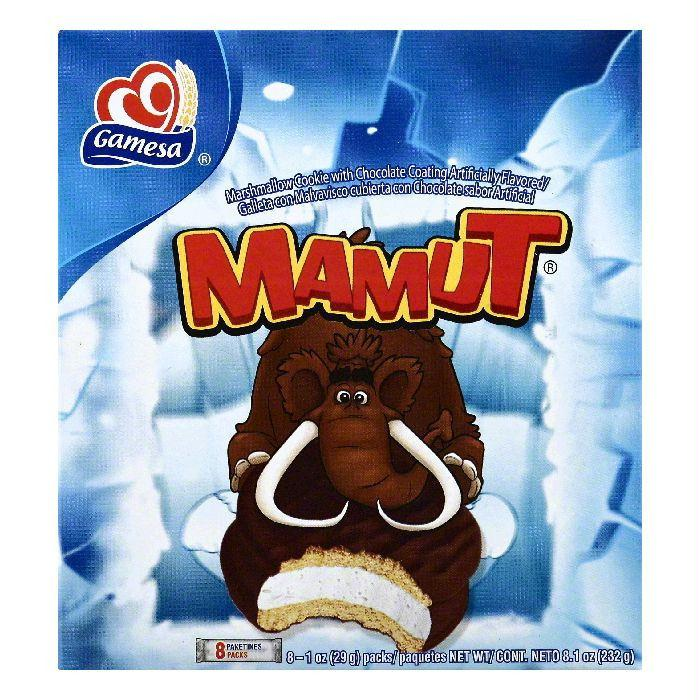 Gamesa Marshmallow Cookies, 8 ea (Pack of 12)