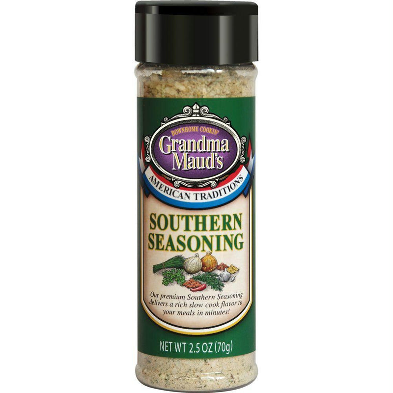 Grandma Mauds Southern Seasoning, 2.5 Oz (Pack of 6)