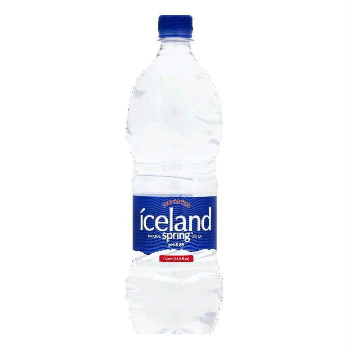 Iceland Natural Spring Water, 33.8 OZ (Pack of 12)