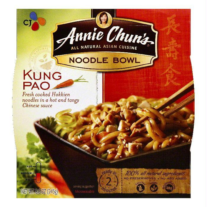 Annie Chuns Kung Pao Noodle Bowl, 8.6 OZ (Pack of 6)
