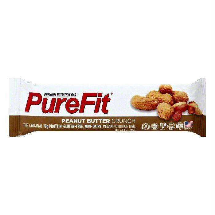 PureFit Peanut Butter Crunch Nutrition Bar, 2 OZ (Pack of 15)