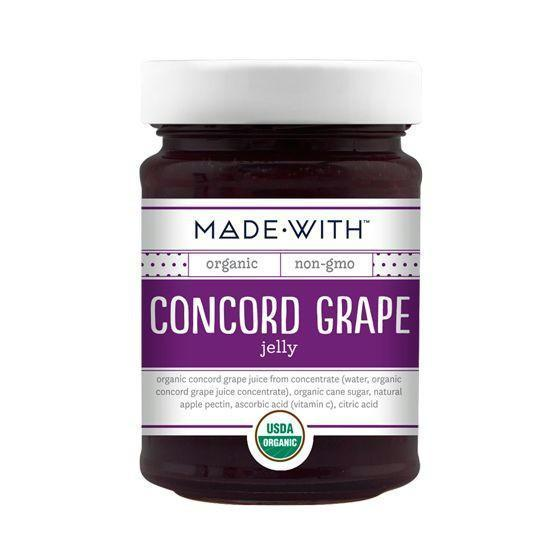 Made With Concord Grape Jelly, 11 Oz (Pack of 6)