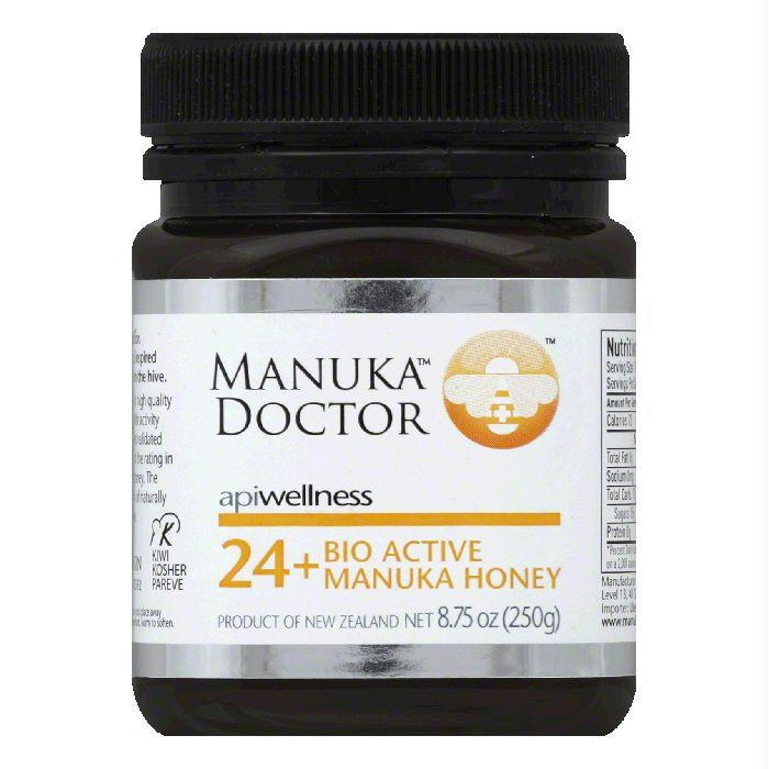 Manuka Doctor HONEY BIO ACTIVE 24+, 8.75 OZ (Pack of 3)