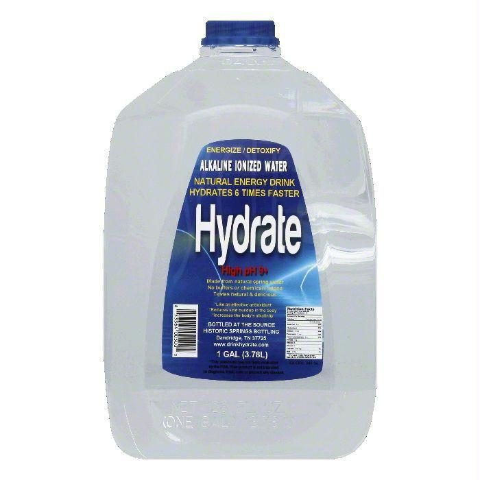 Hydrate High pH 9+ Alkaline Ionized Water, 1 GA (Pack of 4)