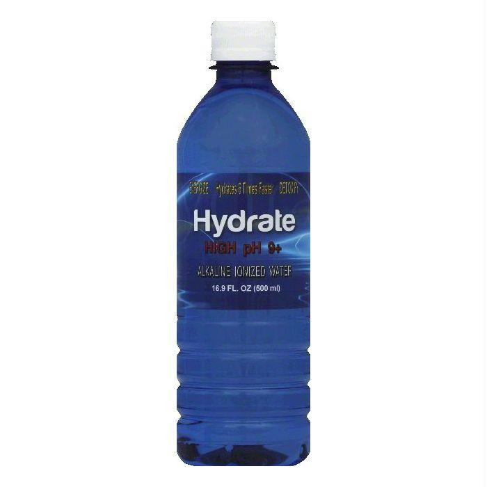 Hydrate Alkaline Ionized Hydrate Water, 16.9 OZ (Pack of 24)