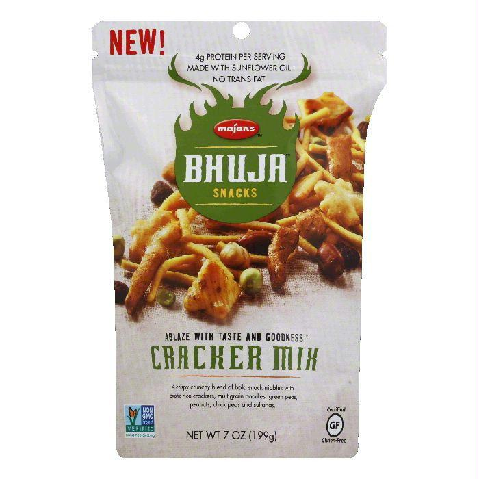 Majans Cracker Mix Snacks, 7 Oz (Pack of 6)