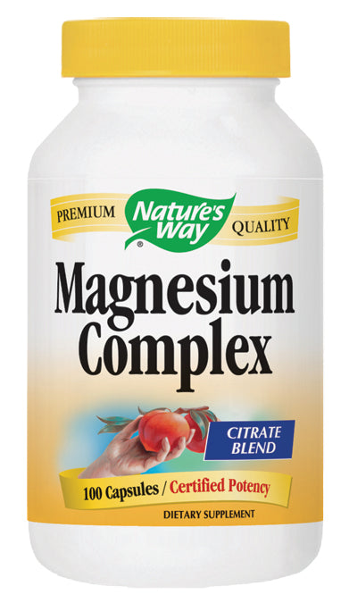 NATURE'S WAY - Magnesium 100 CAP