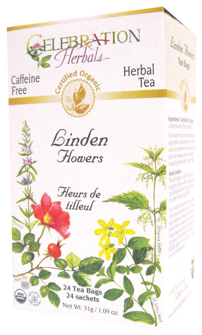 Linden Flowers Organic 24 BAG