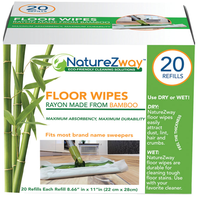 NATUREZWAY - Floor Wipes 20 CT