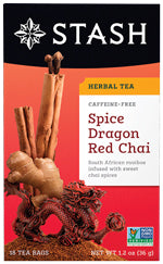 STASH TEA - Spice Dragon Red Chai Tea 18 CT