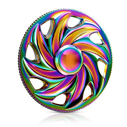 Fidget Spinner Toy - Rainbow Wheel - Veexo.com
