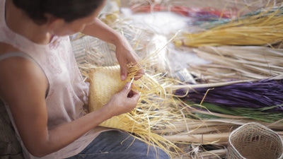Artisan Series Ep. 4: Laura. The artisan behind palm weaving.
