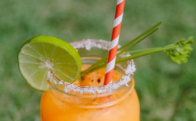 Happy 5 de Mayo! Make this Farmarita at home for your taste of Mexico 🇲🇽 🧡