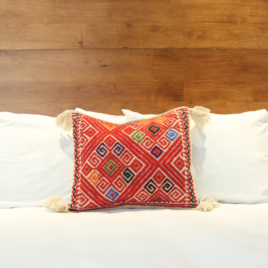 Rojo Wool Pillow Case