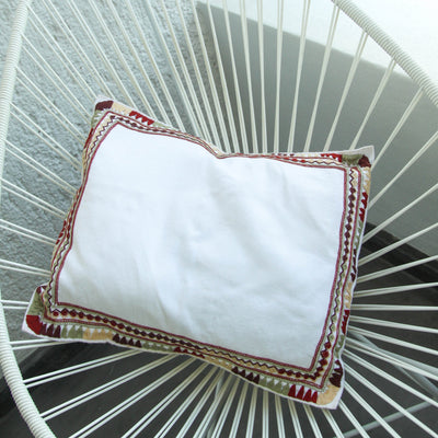 Embroidered  Pillow Case