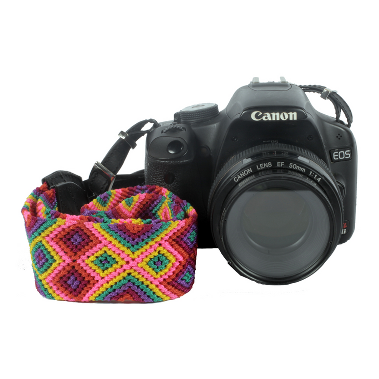 Camera Strap - Cotton Candy