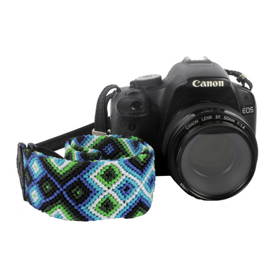 Camera Strap - Seattle Blue