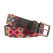 Chiapas Woven Belts - Cotton Candy