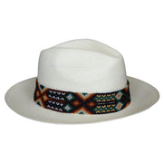 Falcon Hat - Cream (Palm & Rice Paper)