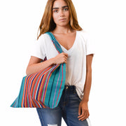 Multi Striped Hammock Bag