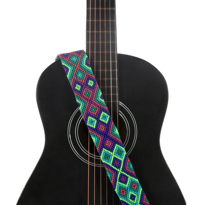 Bright Emerald Guitar Strap