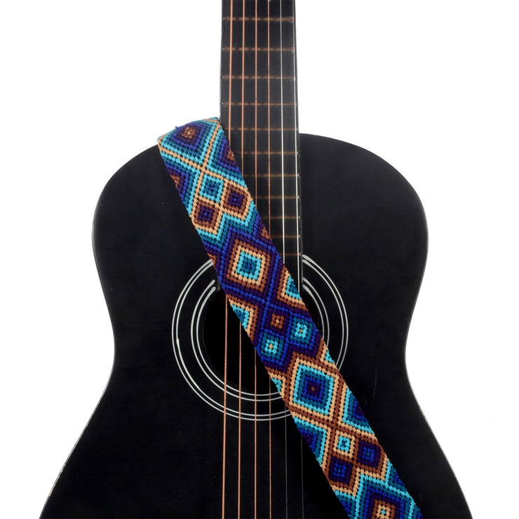 Deep Blue Guitar Strap