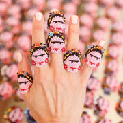 Frida Beaded Ring