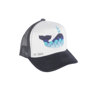 Embroidered Whale Hat (Adult)