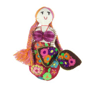 Embroidered Mermaid Doll - Small