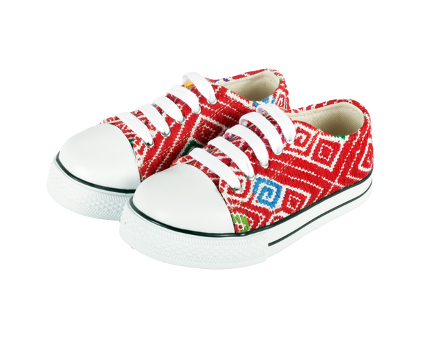 Kids Tennis Shoe- Rojo