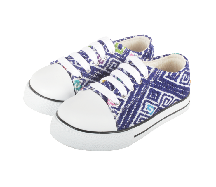 Kids Tennis Shoe- Azul Oscuro
